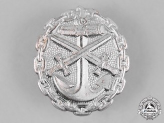 Germany, Imperial. A Naval Wound Badge, Silver Grade