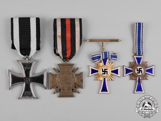 Germany, Wehrmacht. A Lot of First & Second World War Period Decorations
