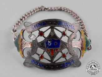 United States. An Army Air Force China-Burma-India (CBI) Theater-Made Bracelet, 1944