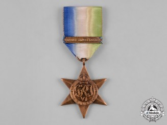United Kingdom. An Atlantic Star with France and Germany Clasp