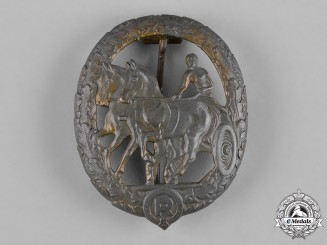 Germany, Third Reich. A Horse Driver's Badge, Bronze Grade, by Steinhauer & Lück