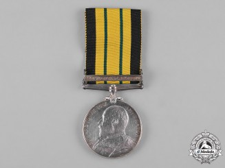 United Kingdom. An Africa General Service Medal 1902-1956, to Boy 1st Class C. Howson, H.M.S. Fox