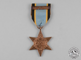 United Kingdom. An Air Crew Europe Star with France and Germany Clasp