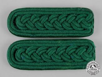 Germany, Imperial. A Set of Württemberg Forest Service Shoulder Boards