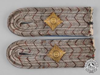 Germany, Imperial. A Set of Württemberg Railway Troops Leutnant Shoulder Boards