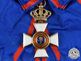 Oldenburg, Grand Duchy. A House Order of Duke Peter Friedrich Ludwig, Civil Division, Grand Cross, c.1870