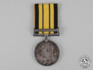 United Kingdom. An Africa General Service Medal 1902-1956, to Sepoy Rambail Singh, 31st Punjabis Native Corps