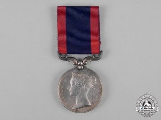 United Kingdom. A Sutlej Medal 1845-1846, to Gunner H. Nield, 6th Battalion Artillery