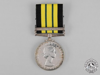 United Kingdom. An Africa General Service Medal 1902-1956, to Prison Warder Kwanda Ngalu