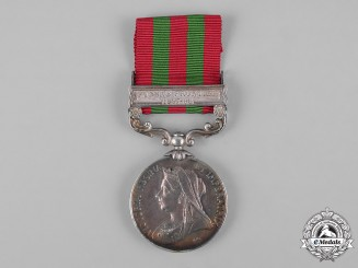 "United Kingdom. An India Medal 1895-1902, 1st Battalion ""The Buffs"" (East Kent Regiment)"