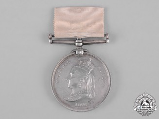 United Kingdom. An Arctic Medal 1875-1876 to Able Seaman James Self, HMS Alert