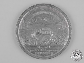 Russia, Imperial. A Medal for the Peace of Nystad 1721