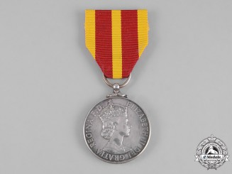 United Kingdom. A Queen's Fire Service Medal for Distinguished Fire Service, Kent Fire Brigade