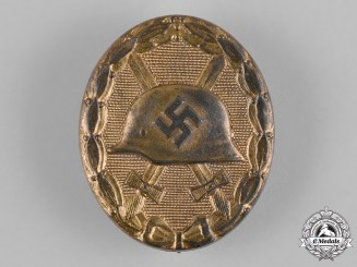 Germany, Wehrmacht. A Wound Badge, Gold Grade, by Steinhauer & Lück