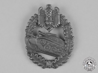 Germany, Wehrmacht. A Wehrmacht Heer (Army) Panzer Shooting Lanyard Badge