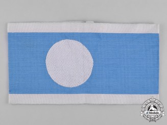 Germany, RLB. An Air Raid Protection League Member's Armband
