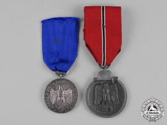 Germany, Third Reich. A Lot of Two Medals & Decorations