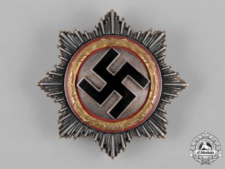 Germany, Third Reich. A German Cross in Gold, by C.E. Juncker, Early Model, Type I