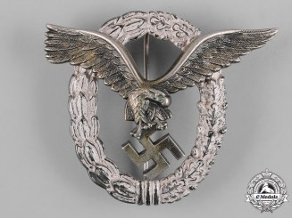 Germany, Luftwaffe. A Pilot's Badge, by Gebrüder Wegerhoff
