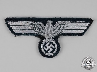 Germany, Heer. A Heer Officer's Tunic Breast Eagle