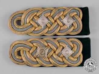 Germany, Ordnungspolizei. A Set of General der Polizei Shoulder Boards