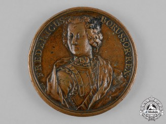 Prussia, Kingdom. A Frederick the Great Commemorative Coronation Medal