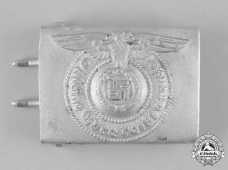 Germany, SS. A Waffen-SS EM/NCO's Belt Buckle, by Assmann & Söhne
