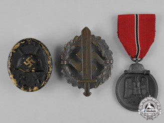 Germany, Wehrmacht. A Lot of Medals & Decorations