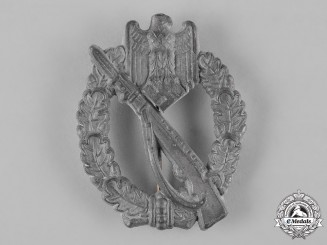 Germany, Wehrmacht. An Infantry Assault Badge in Silver