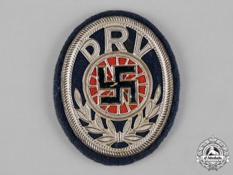 Germany, DRV. A German Cycling Association (DRV) Membership Badge by F.K. Vogelsang