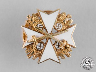 Germany, Third Reich. An Order of the German Eagle with Swords, Miniature Star