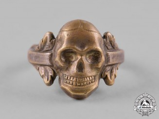 Germany, Wehrmacht. A Wehrmacht Skull Ring
