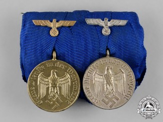 Germany, Wehrmacht. A Wehrmacht Long Service Medal Pair