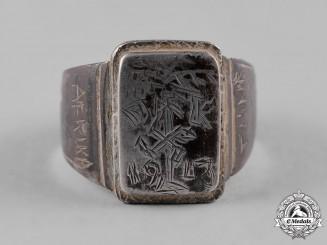 Germany, DAK. A 1943 Afrika Korps Commemorative Ring
