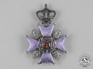 Lippe, Principality. An Order of Leopold, II Class Cross, c.1916