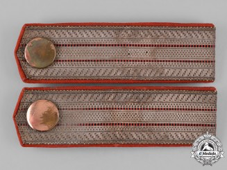 Germany, Imperial. A Set of Württemberg Army Fire Brigade Zugführer Shoulder Boards