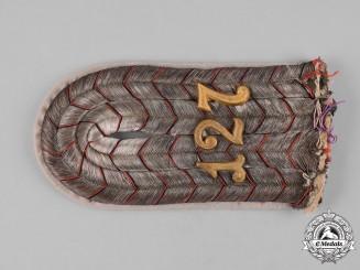 Germany, Imperial. A 9th Württemberg Infantry Regiment Leutnant Shoulder Board
