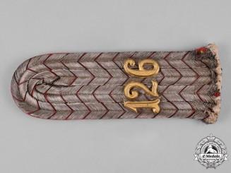 "Germany, Imperial. An 8th Württemberg Infantry Regiment ""Großherzog Friedrich von Baden"" Leutnant Shoulder Board"
