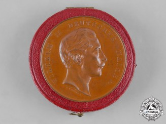 Germany, Imperial. A Medal of Merit for Service to Military Pigeons in Bronze, by E. Weigand