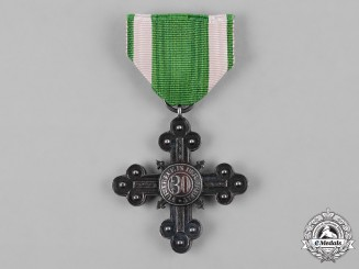 Saxe-Altenburg, Duchy. A 30-Year Long Service Cross for Workers and Servants