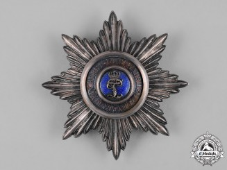 Oldenburg, Grand Duchy. A House & Merit Order of Peter Friedrich Ludwig, Grand Commander's Star, c.1870