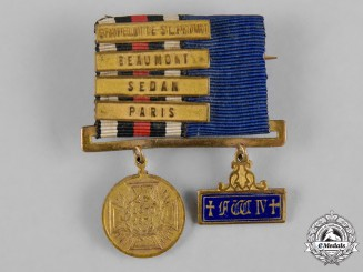 Prussia, Kingdom. A Miniature Franco-Prussian War Service Bar