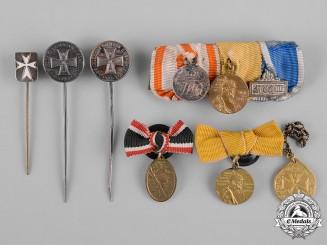 Prussia, Kingdom. A Lot of Miniatures, Button-Hole Miniatures, and Stickpins