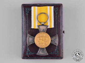 Prussia, Kingdom. A General Merit Military Medal, General Service, by Wagner, with Case