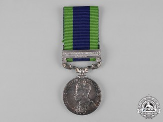 United Kingdom. India General Service Medal 1908-1935, 2nd Battalion, 2nd Punjab Regiment