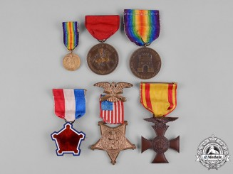United States. A Medal Group to Spanish-American War Veteran, Chief Surgeon Major H.S. Kilbourne