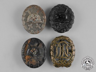 Germany, Third Reich. A Lot of Second War Badges