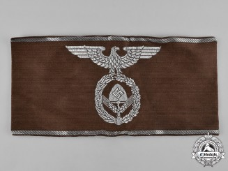 Germany, RAD. A Reich Labour Service (RAD) Leader's Armband