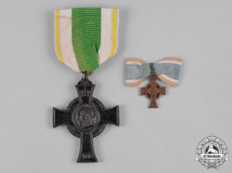 Saxony, Kingdom. A War Merit Cross
