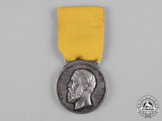 Baden, Grand Duchy. A Civil Merit Medal, Silver